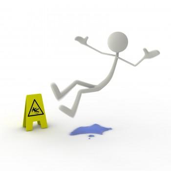 転倒事故、労働災害防止